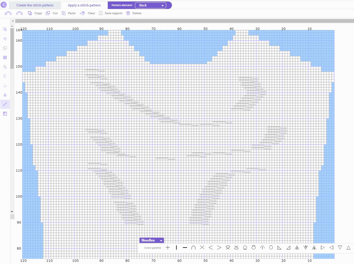 Stitch pattern Editor