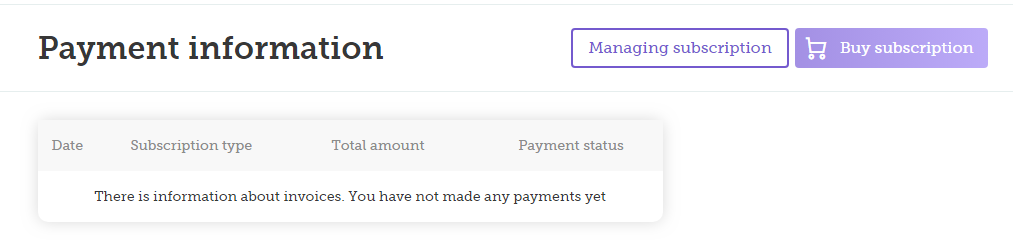 buy subcription