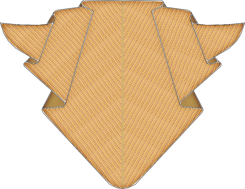 Lace shawl. Free knitting pattern
