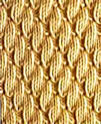 stitch pattern based on knits and purls